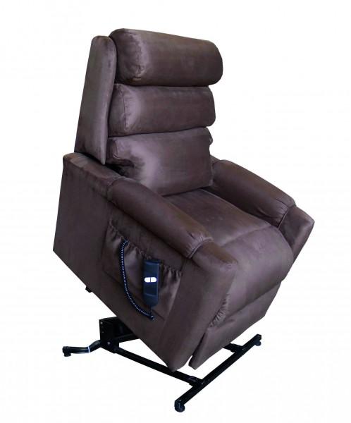 aufstehsessel sylvia tv sessel 2 motorig mit aufstehhilfe braun medizinische m bel bett. Black Bedroom Furniture Sets. Home Design Ideas